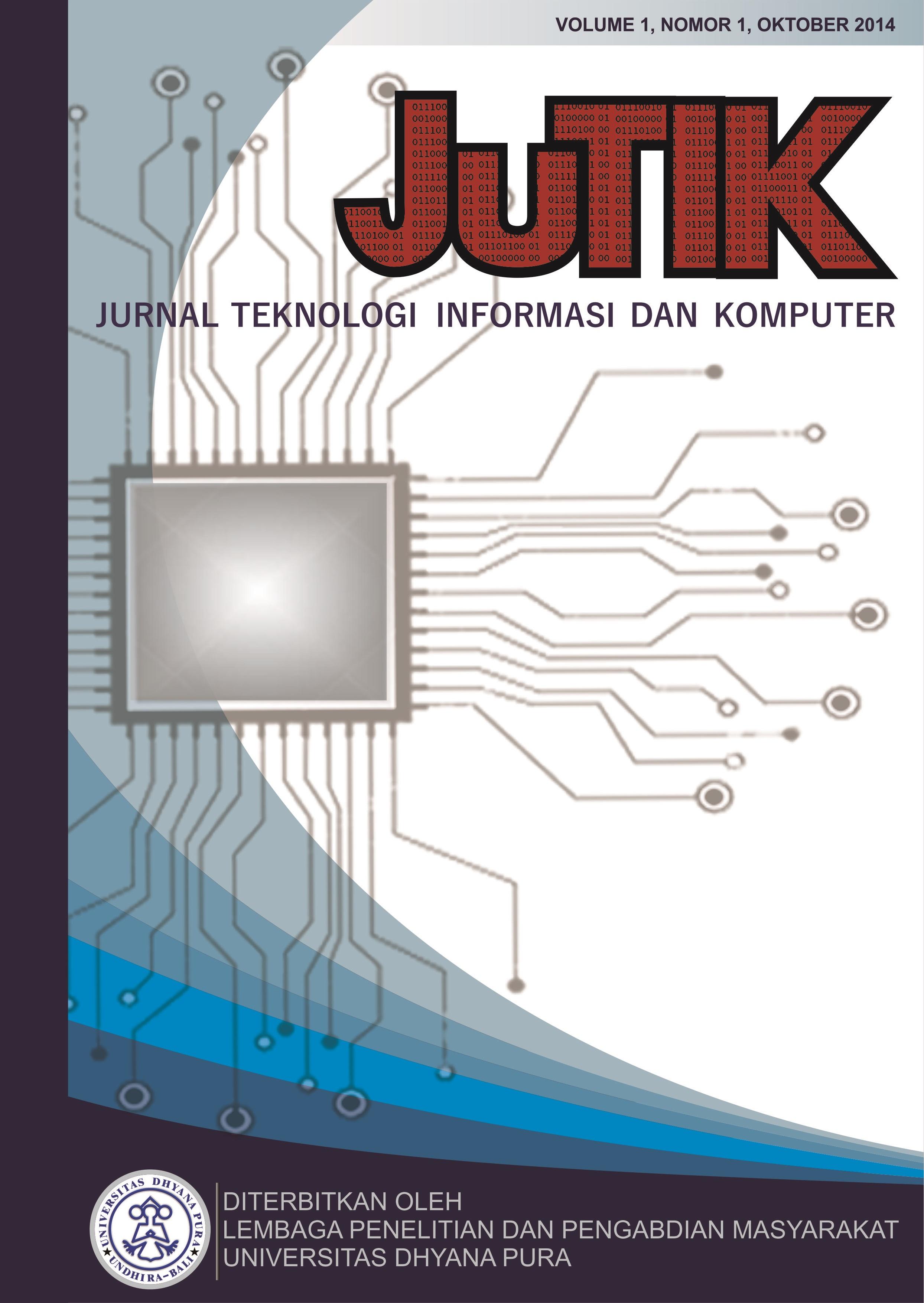 Jurnal Teknologi Informasi Dan Komputer
